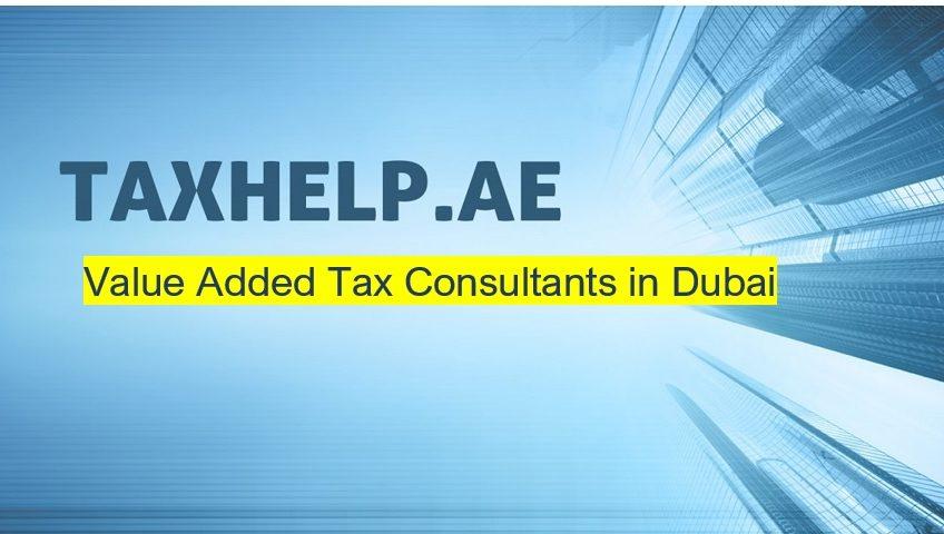 value added tax consultant in dubai